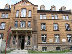 Psychiatric hospital in Jena, Germany where Hans Berger first recorded human brain waves